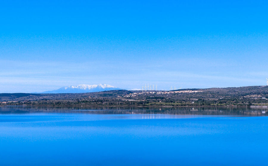 Beauty In Nature Blue Fitou FRance Fitougraphie Lake Laurent Vankilsdonk Mountain Nature Outdoors Reflection Sky Tranquility Water