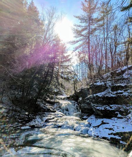 Winter adventures Hiking Upstate New York Outdoors Snow Winter Weekend Activities