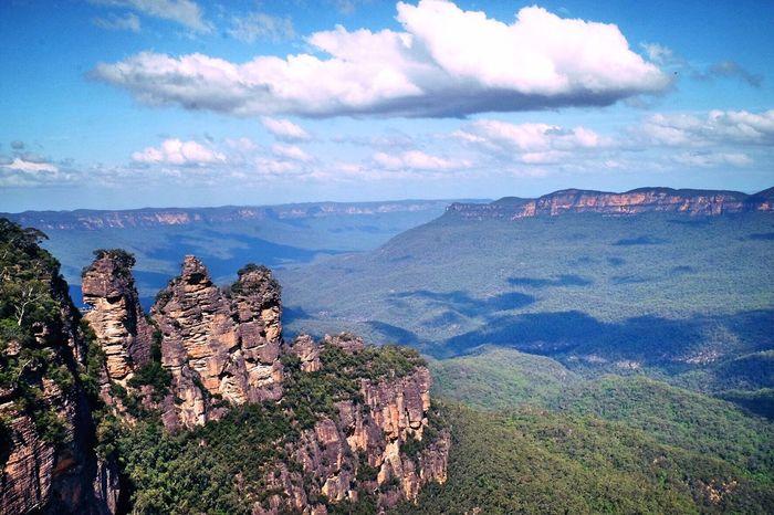 Bluemountains Camping Australia Katoomba