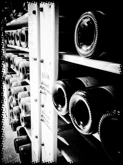 Wine Wine Cellar Choose One Black And White