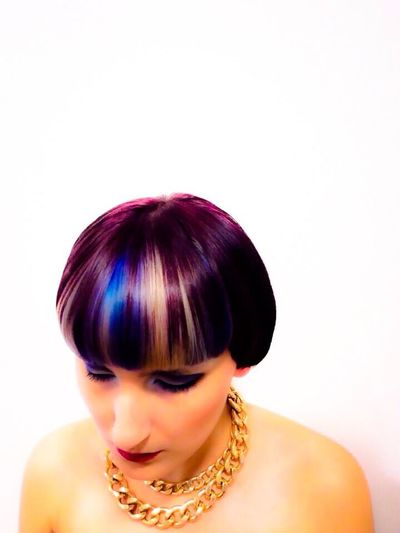 Wella Fashion Work Hairdresser my model I did for trend vision last year