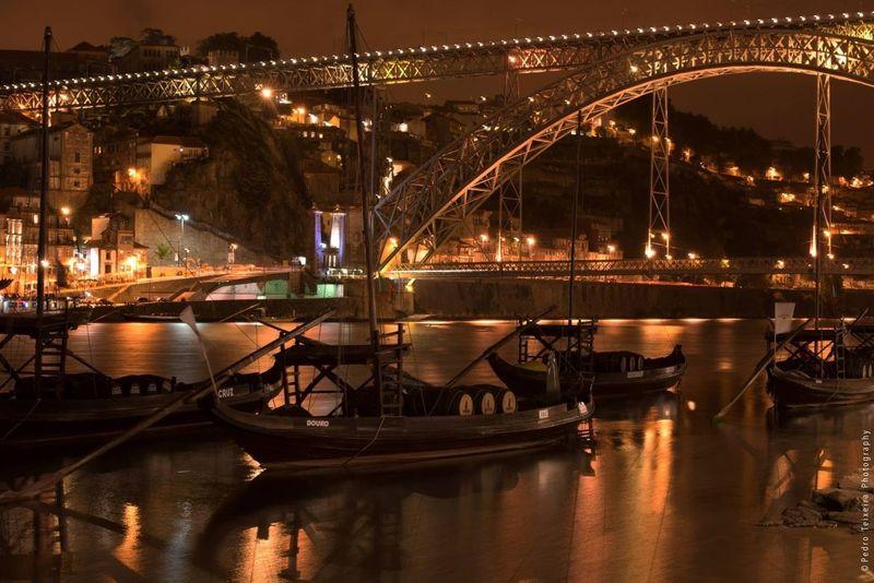 Bridge Eyem Porto Night Out City Lights