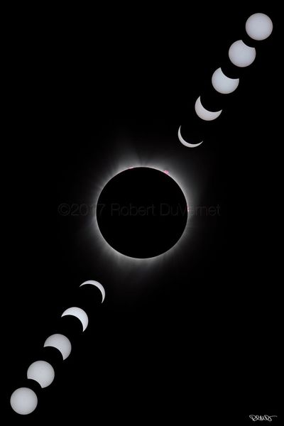 2017 North American Eclipse Eclipse Solar Eclipse 2017 Totality Solar Eclipse Sun Space Moon Sun And Moon Salem, Oregon Path Of Totality Canon Robert DuVernet Photography Composite