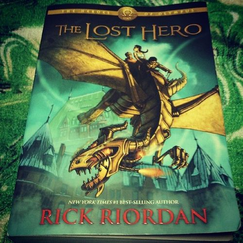 The Lost Hero Currentread Rickriordan MejoGreekmythology