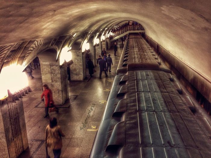 Notes From The Underground Metro Underground