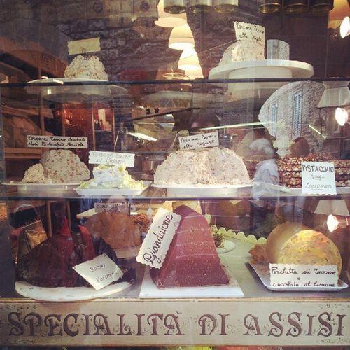 Assisi Umbria Italia Italo Dolci Torte Cake Sweet