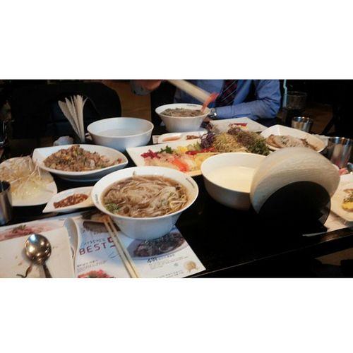 천안 포메인 월남쌈페밀리셋트 월남쌈 쌀국수 닭고기볶음밥 맛점 늦은점심굿😀