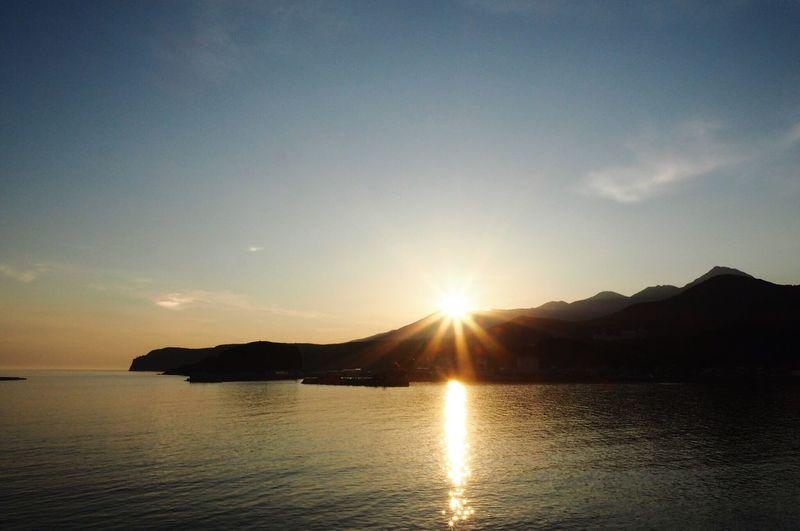 Sunrise over Mt Rausu Ultimate Japan Hokkaido Shiretoko Utoro Sunrise Sea Of Okhorst