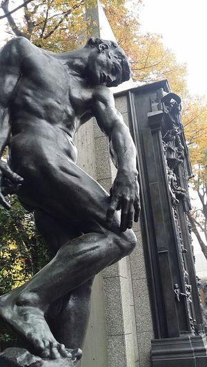 Adam  August Rodin Sculpture Art National Museum Of Western Art Ueno Park Tokyo