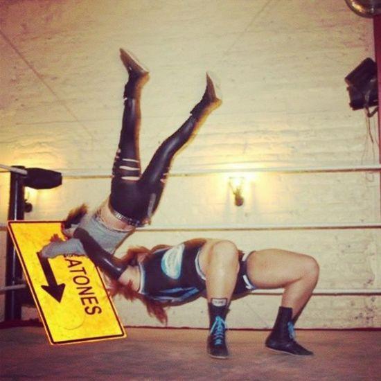Engel vs Domina Luchalibre Chilena wrestling xnl