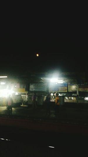 Yesterdays Full Moon