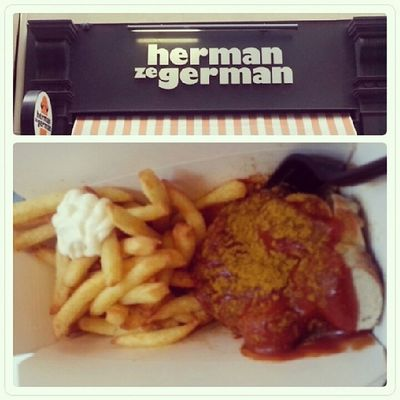 Deutsche Currywurst In London by herman ze german mantaplatte