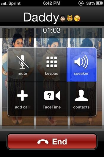 On The Phone With My Dad