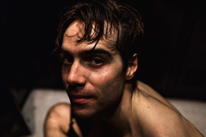 RePicture Masculinity Gonzalo New York City Ballet Dancer Portrait Looking At Camera Color Portrait Close-up