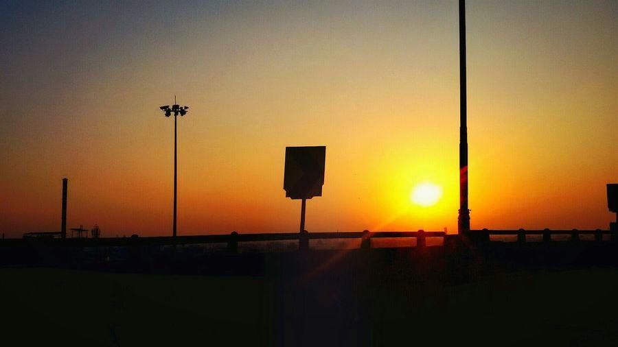 Good morning world! Sunrise Sunshine Morning Sky Clouds And Sky Warmthandsunshine Randomshot Home Ahmedabad Gujarat India The City Lights The City Light