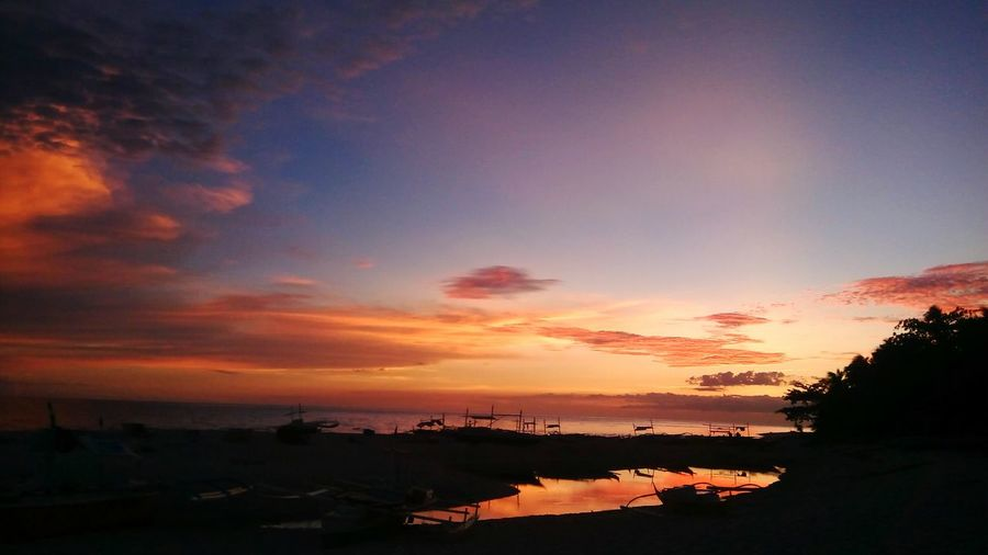Credits to the Creator Mobilephotography Selinog Island DapitanCity Phillipines Island Life Sunsets Sillhouette Sillhouttes And Sky Tree Sunset Water Silhouette Multi Colored Reflection Lake Sky Landscape Horizon Over Water Dramatic Sky Romantic Sky Tranquil Scene Summer Exploratorium
