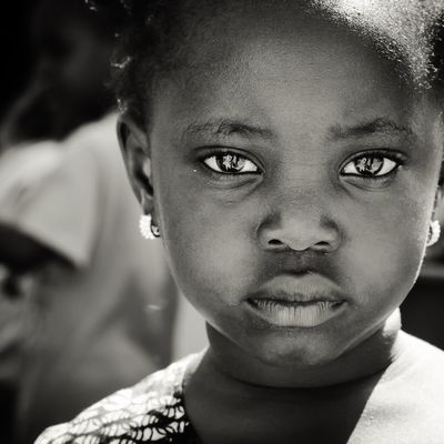 Black eyes 3/8 African Portrait Photography Childhood Real People One Person Portrait Human Face