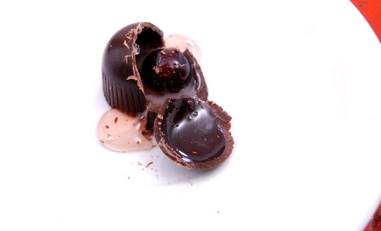sweet bonbon Bonbons Broken Candied Fruit Cherry Chocolate Cute Jelly Liquid Praline Sweet Sweet Food