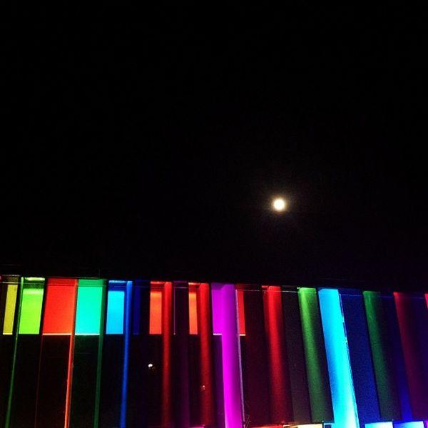 The Nocturnal Pianola Fullmoon Sydney Pianola Vividsydney light festival australia