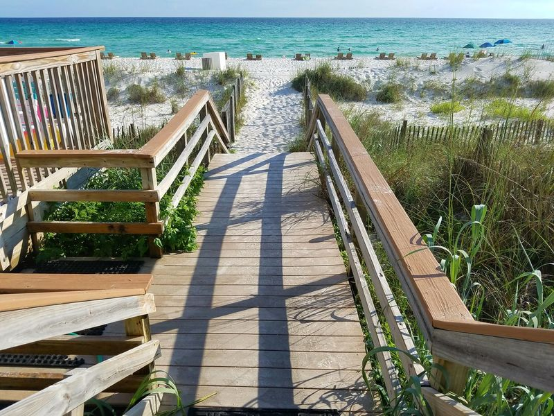 Nature Coastline Florida Summer Gulf Of Mexico Feel The Journey Sky Emeraldcoast Driftwood Footprints In The Sand Sea And Sky Evening Walking To The Sea Summer Views Summertime Ocean Saltwater Panama City Beach Beachphotography Sand Beach Trail Shore Fine Art Photography Shootermag