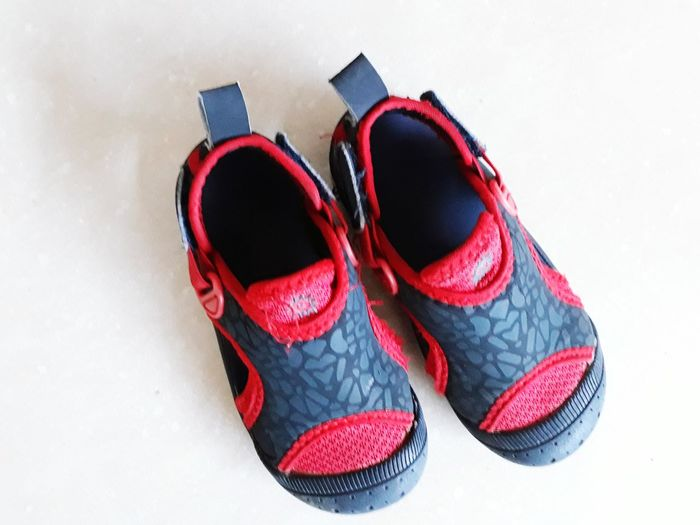 Foot Wear Shoes Pairs Of Shoes Red And Grey Baby Kiko Branded Spiderman Spiderman Shoe Spiderman Design Shoe Boys Shoe Pair Shoe No People Fashion Studio Shot Red White Background Close-up Indoors