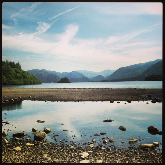 Lake District Lake District National Park Lake District Series Beauty In Nature Lake Landscape Nature Outdoors Scenics Sky Tranquility Water