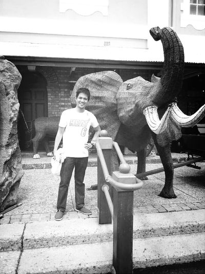 smile with this big creature. .. Faces Of EyeEm
