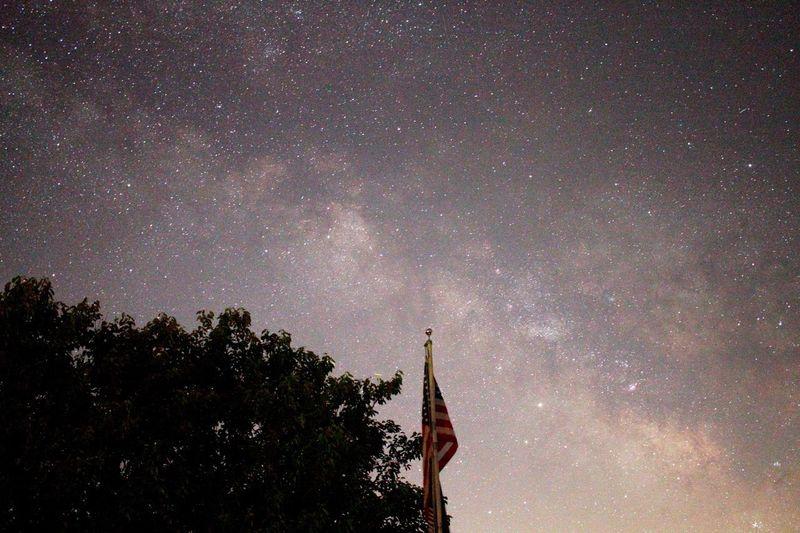 Flag Space Star