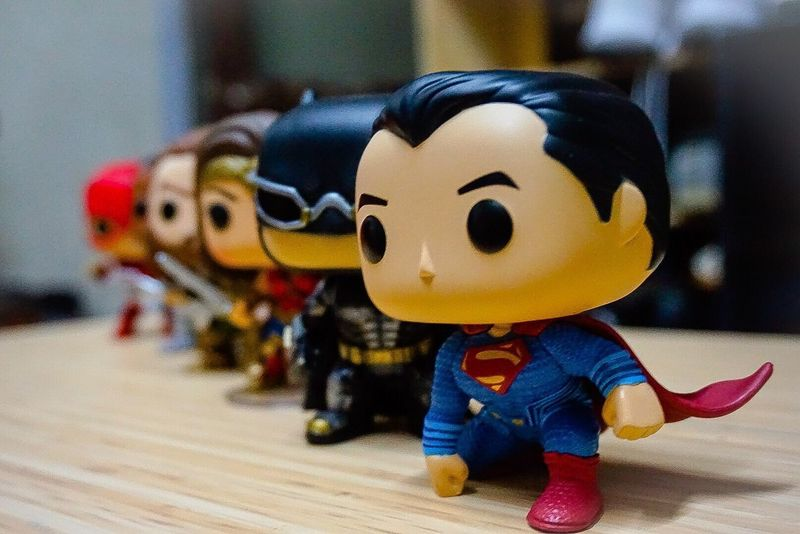 Justice League Funko Toyphotography Toys