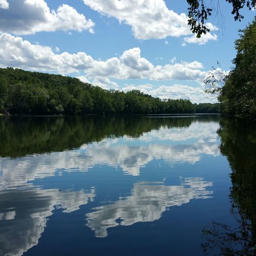 Great spot to sit and relax. Massachusetts River View