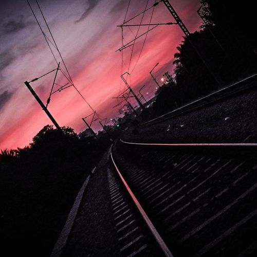 Day of awesomeness Nature Outdoors Railwaytrack Light Landscape_Collection SONYXPERIAX
