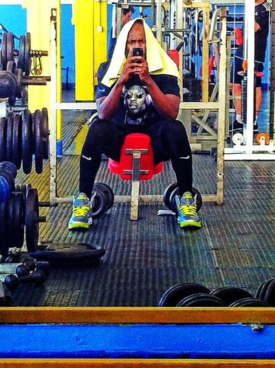 Before I pushed rhymes like weight, I used to wanna play for the NBA. Hanging Out Gym Hello World Chillaxing