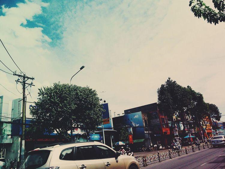 Saigon Hochiminhcity Vietnam Sky Blue Sky Saigonlife Saigon, Vietnam