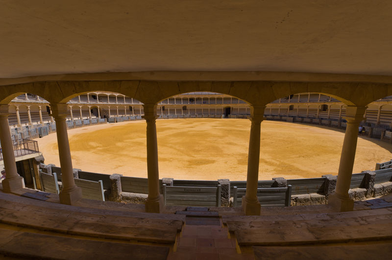 bullfighting arena Wood - Material Arch In A Row Indoors  Built Structure Architecture No People Day Absence Sport Architectural Column Seat Travel Destinations Building Old History Geometric Shape City Ronda SPAIN Arena Bull Fighting Bullfighting Bullfighting Arena