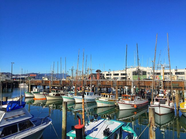 Fisherman's Wharf San Francisco Boats