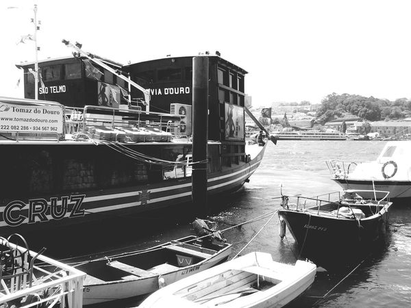 Porto , Portugal Black&white Monocrhome Eye For Photography Boats