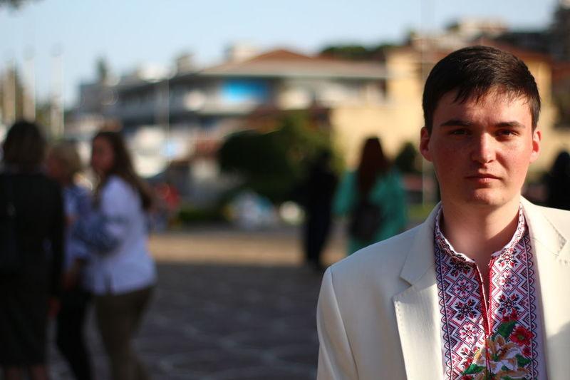Sunny Pasqua Easter вишиванка Ukraine Ukrainian  Rome Santa Sofia Italy EyeEm Selects City Businessman Men Young Women Young Men EyeEmNewHere