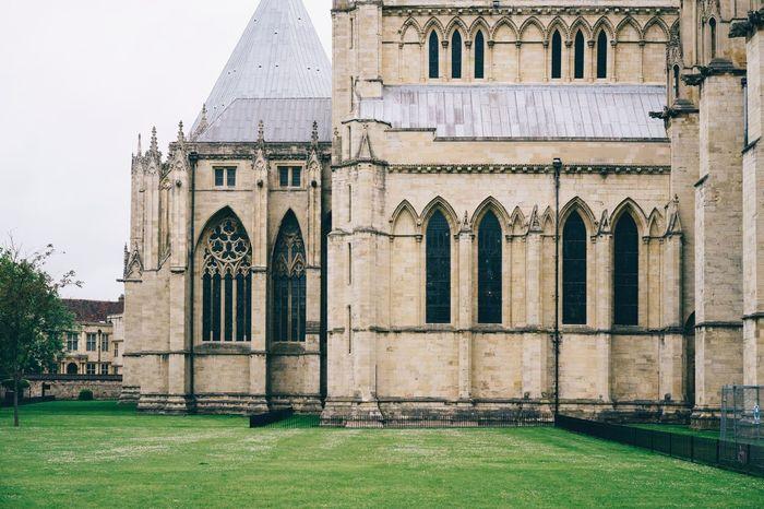 York Minster  York England Cathedral Historical Building