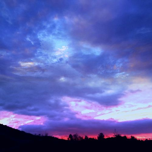 Sunrise Goodmorning A Cold Morning