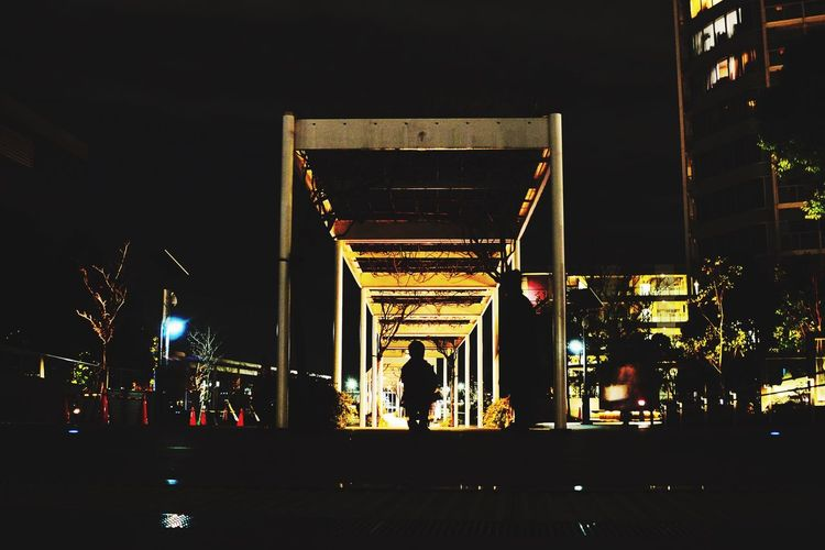 Night Shadow Tokyo 二子玉川 Silhouette Gate