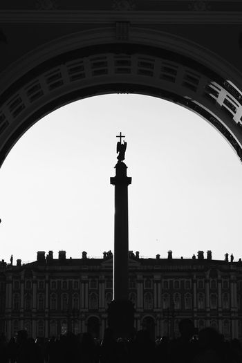 Alexander Column Architectural Column Architecture Background Blackandwhite City Hermitage Presentation Russia Saint Petersburg Statue Tourism Unesco UNESCO World Heritage Site Vertical