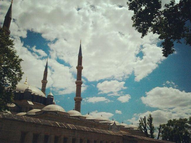 Hayırlı kandiller 💐 Selimiye Camii Mosque HayırlıKandiller Life Mobile Photography