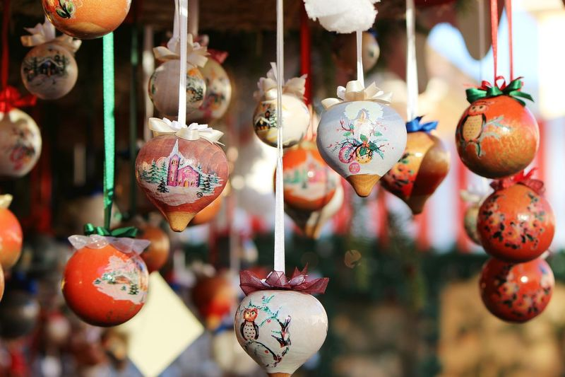 Christmas EyeEm Best Shots Top Photography Art And Craft Choice Christmas Decoration Collection Creativity Decoration For Sale Hanging Large Group Of Objects Marco Vittorio Marco Vittorio Fotografo Marco Vittorio Photography Market No People Outdoors Retail  Sale Street Market Top Photo Top Photographers Top Photos Variation
