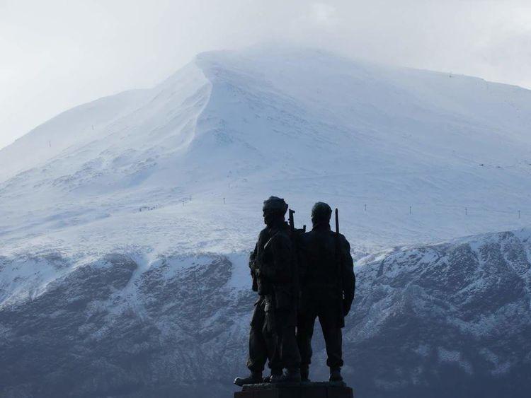Commando memorial Forces Armed Forces Lestweforget Speanbridge Commando Memorial Patriotic Proud Wewillrememberthem Scotland
