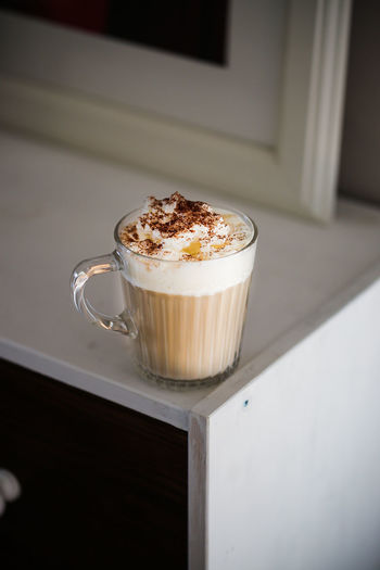Cappuccino Food And Drink Coffee Cup Coffee - Drink Drink Still Life Freshness Indoors  Mug Coffee Cup No People Hot Drink Food Close-up Cappuccino Indulgence Glass Latte