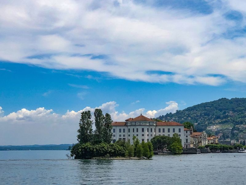 Isola Bella Italy Stresa Stresa Italy Travel Destinations Tourist Destination Sky Cloud - Sky Architecture Water Built Structure Plant Nature Building Exterior Building No People Beauty In Nature Scenics - Nature Waterfront Travel Destinations Travel