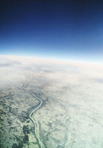 Aerial View Cloud - Sky Environment No People Sky Airplane Planet Earth Outdoors Space Satellite View Aerospace Industry Nature Day Cold Temperature Backgrounds Winter Looking Out Window Canada Flying Over Canada Miles Away