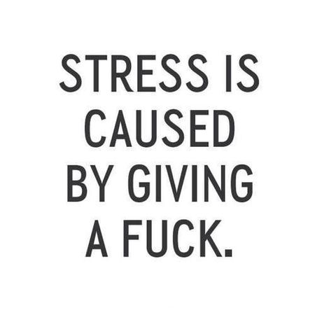 Stressed Out...