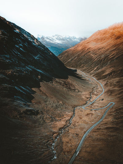 Drone  Drones Mountain View Beauty In Nature Curve Day Drone Photography Dronephotography Droneshot Landscape Mountain Mountain Peak Mountain Range Mountain Road Mountains Nature No People Outdoors Physical Geography Road Scenics Sky Tranquil Scene Tranquility Winding Road