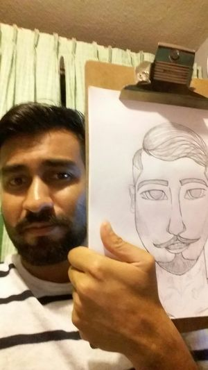 Thst's Me Dibujando Art, Drawing, Creativity Relaxing Time Beard Hombre Art Dibujar Just Drawing Mexicanboy